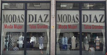 Fachada tienda de La Robla
